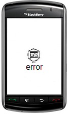 Réparation erreur système os blackberry error 523, error 200, error 507