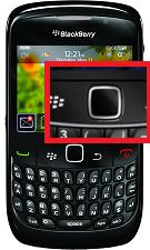 Réparation changement écran LCD Blackberry Curve 8520 Paris Montgallet