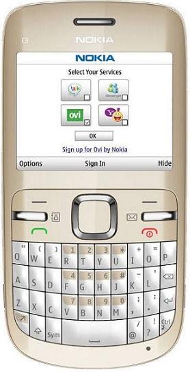 Réparation écran Nokia C3