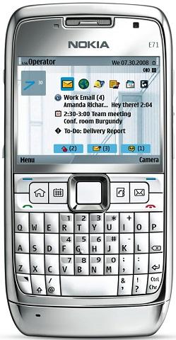 Réparation écran Lcd cassé Nokia E71