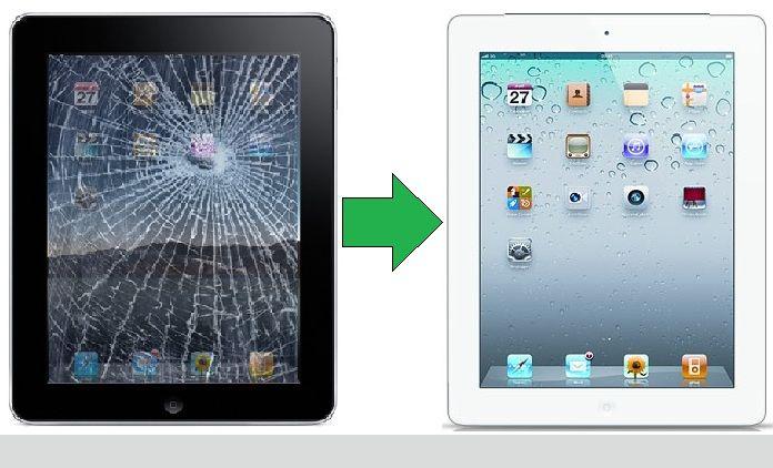 Réparation vitre cassée iPad3 sur Paris 12ème Montgellet, changement écran cassé iPad 3/NEW IPAD, ou faire changer la vitre cassée iPad 3 / NEW IPAD à Paris