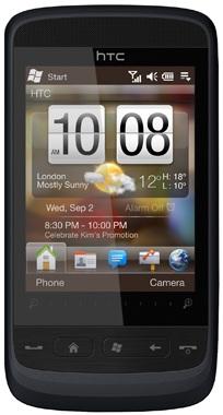 Réparation écran cassé vitre cassée fissurée HTC Touch 2
