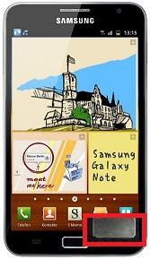 Réparation haut parleur du bas sur Galaxy Note N7000, haut parleur grisaille...