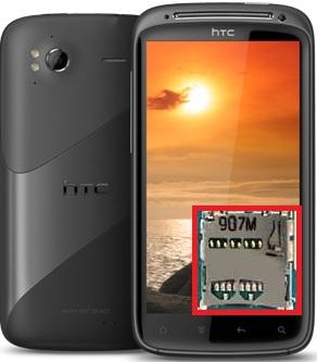 Réparation du lecteur de la carte memoire micro SD sur HTC Sensation...