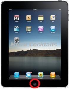 Réparation Bouton Home Accueil sur iPad 1