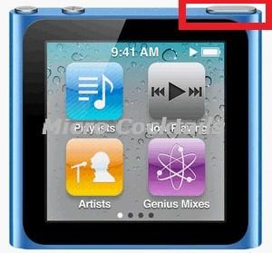 Réparation bouton power allumage on off mise en veille iPod Nano 6ième génération