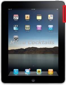 Réparation du bouton volume ou bouton mute de votre iPad1