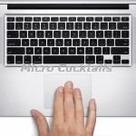 "Changement trackpad macbook unibody 13"" A1278"