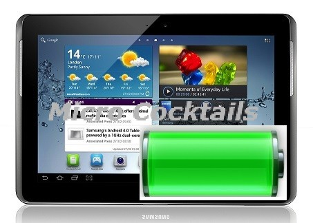 remplacement batterie galaxy tab 2 10 P5110