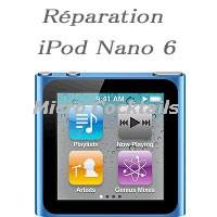 Réparation ipod Nano 6