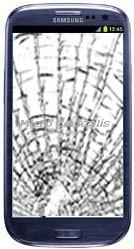 Réparation écran cassé Galaxy S3