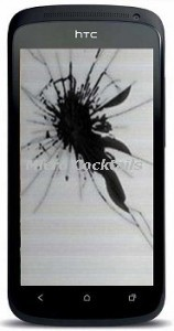 Remplacement ecran lcd casse htc one s