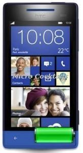 Remplacement batterie HTC 8S