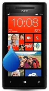 Désoxydation HTC 8X tombé dans l'eau