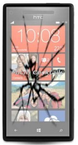 Changement de vitre cassée sur HTC 8X Paris Montgallet