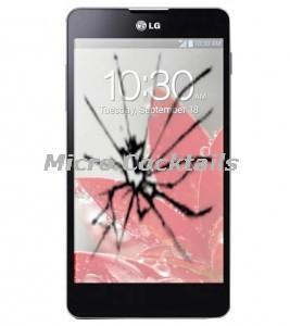 Réparation vitre cassée LG Optimus G E975