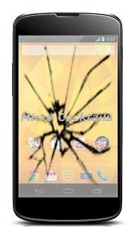 Réparation de la vitre cassée sur Nexus 4