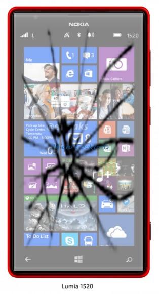 reparation vitre casse Nokia-Lumia 820