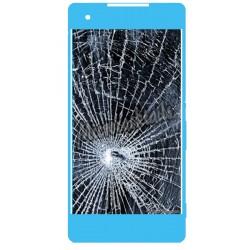 reparation ecran casse vitre lcd sony xperia x compact