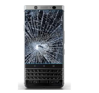 R paration cran cass vitre fissur e blackberry keyone for Photo ecran blackberry