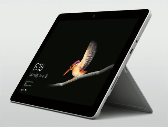 Réparation écran cassé vitre cassée Microsoft Surface GO