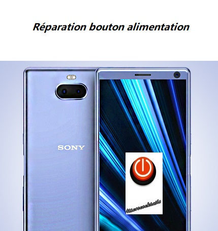 Réparation bouton power Sony Xpéria XA3 Ultra